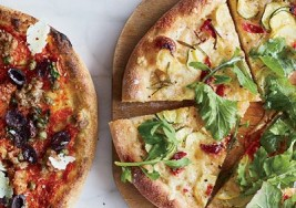 Summer Pizza: Squash & Arugula Recipe