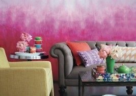 Guest Blogger: How to Paint an Eye-Catching Ombre Wall
