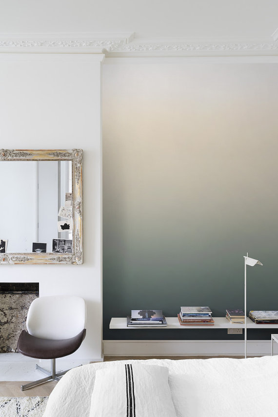 ombre wallpaper ideas