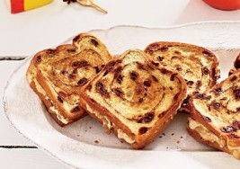 Back to School Kids' Snack: Raisin Bread & Cream Cheese Recipe