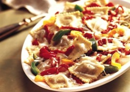 Italian Inspired Ravioli, Sausage and Peppers Recipe