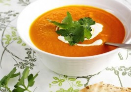 Summer Roasted Carrot Soup Recipe