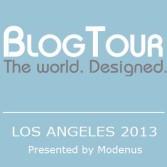 BlogTour Badge LA (blue)