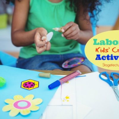 Free Labor Day Patriotic Kids Crafts & Activities