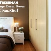 college dorm room checklist