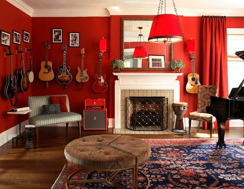 Guest Blogger: How to Creatively Decorate with Instruments