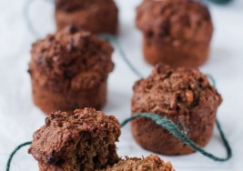 Autumn-Inspired Pecan Crusted Gingerbread Muffins Recipe