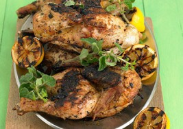 Labor Day BBQ – Lemon Grilled Whole Chicken Recipe