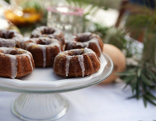 Summer Breakfast: Mini Almond Bundt Cakes Recipe