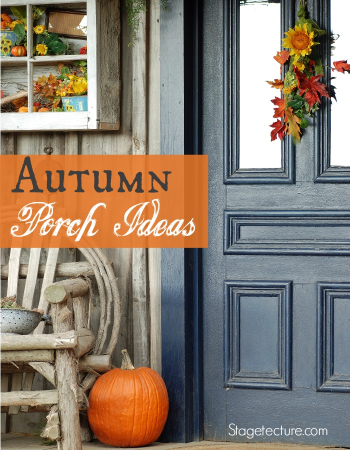 Autumn porch ideas front door