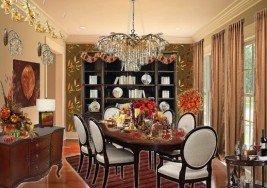 Olioboard Inspiration – Autumn Color Dining Room Inspiration