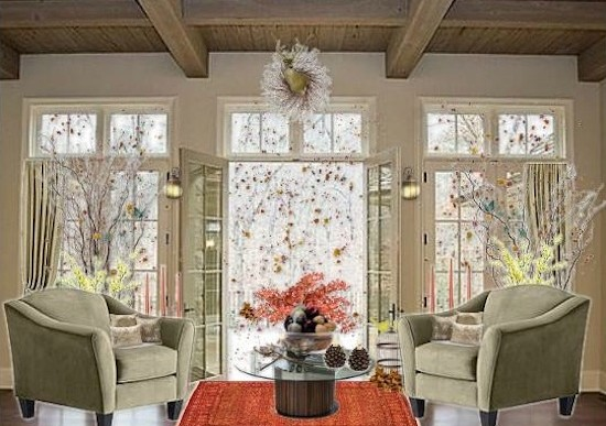 Olioboard Inspiration: Decorating with Natural Fall Elements