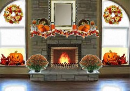 Olioboard Inspiration – Cozy Autumn Fireplace Mantle Ideas