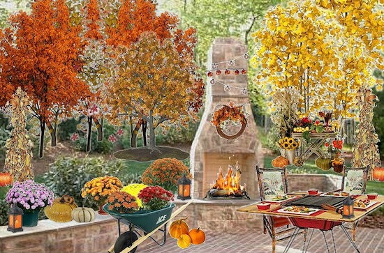 Fall Landscaping Tips garden design: garden design with fall landscaping in oklahoma