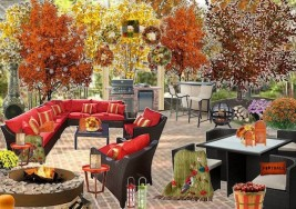 Olioboard Inspiration: Festive Fall Outdoor Entertaining Ideas
