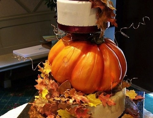 Autumn Wedding Cakes – Ideas to Fall in Love With
