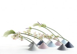 Brighten your Home Office: Unique Fuji Flower Vase