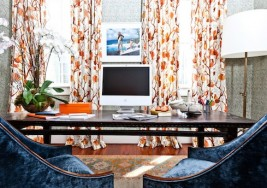 How to Bring Warm Autumn Color into Your Home Office