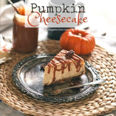 Autumn Spiced Pumpkin Pie Cheesecake Recipe