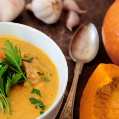 Thai Roasted Pumpkin Soup Recipe