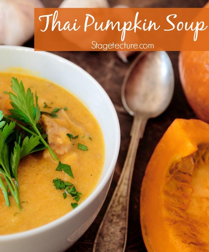 Thai pumpkin soup recipe