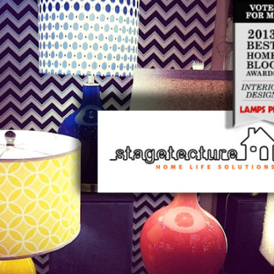 Stagetecture is Nominated! Lamps Plus 2013 Best Home Blog