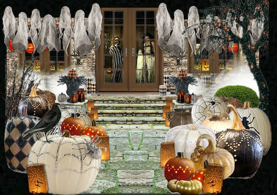Olioboard Inspiration – Spooky Halloween Porch Ideas