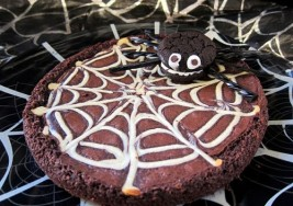 Spooky Halloween Spiderweb Brownie Recipe