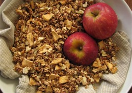 Cinnamon Apple Gluten-Free Fall Granola Recipe