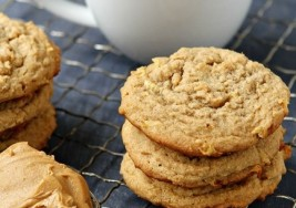 Cinnamon Apple Peanut Butter Cookies Recipe
