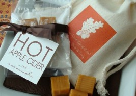 Creative Autumn Wedding Favors for your Guests