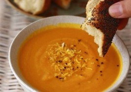 Autumn Harvest Orange Spiced Carrot Soup Recipe
