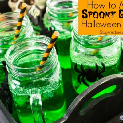 How to Make Spooky Green Halloween Punch Recipes