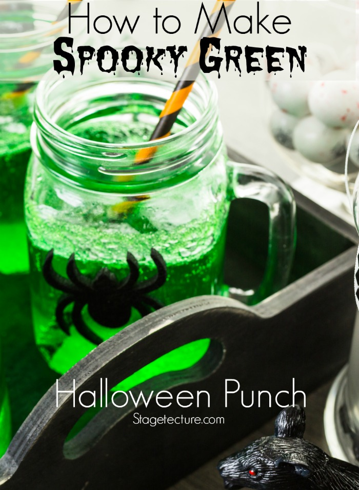 green halloween punch recipes