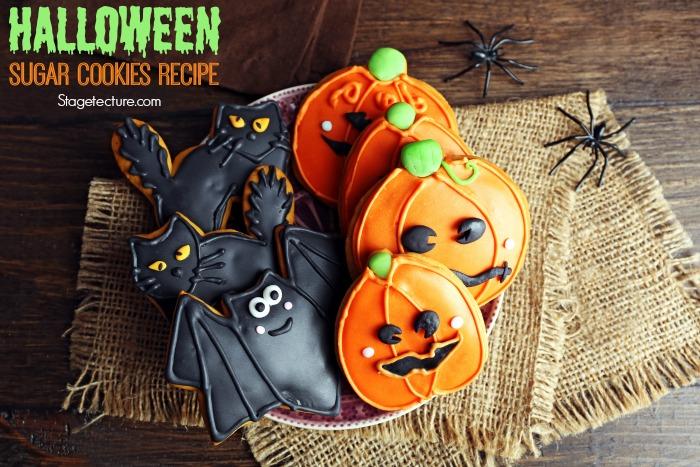 Halloween cookies sugar recipe