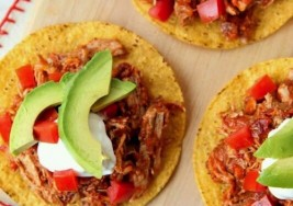 Slow Cooker Shredded Pork Soft Tacos Recipe