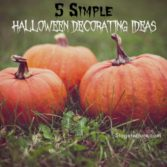 simple halloween decorating ideas