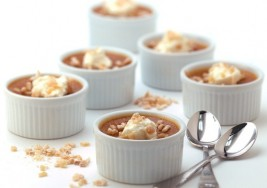 Holiday Maple Pumpkin Custard Dessert Recipe