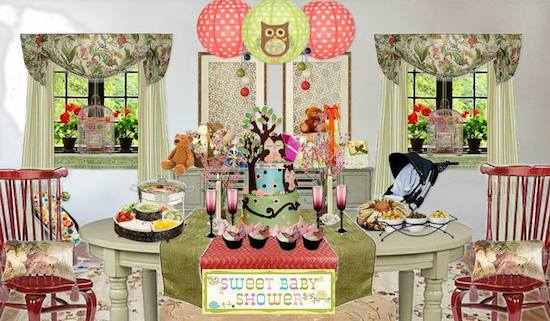 Olioboard Inspiration – Inspiring Themed Baby Shower Ideas