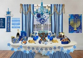 Olioboard Inspiration: Decorating for a Hanukkah Celebration