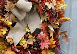 How to Maximize Fall Leaves as Decor in your Home