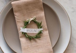 Creative DIY Thanksgiving Placement Cards Ideas