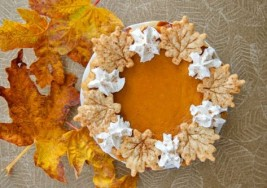 Orange Sweet Potato Pie With Rosemary Cornmeal Crust Recipe
