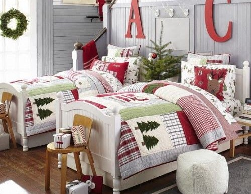 How To Decorate Your Kids' Room For Christmas