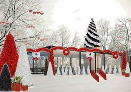 Olioboard Inspiration:  Creative Christmas Outdoor Lighting Ideas