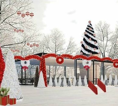 Olioboard Inspiration:  Creative Christmas Outdoor Lighting Ideas