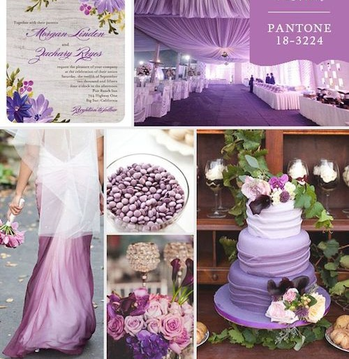 "Pantone's 2014 Color – Radiant Orchid  ""Confidence, Love, Health"""