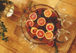 Holiday Berry Bourbon Punch Recipe