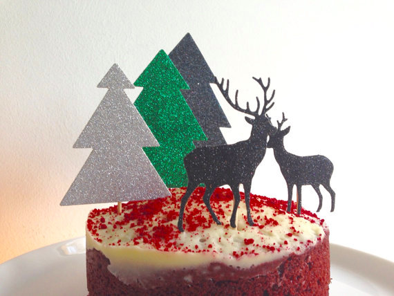 Etsy Christmas Cake Decorations : Christmas Party Ideas: Our Favorite Etsy Finds for your Guests