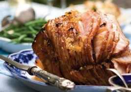 Holiday Champagne Baked Ham Recipe